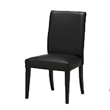 Upholstered stuffover dining chair