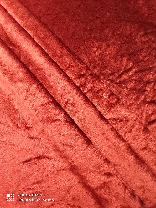 Remnant- Cristina Marrone-Velvet- Ruby- 1 Metre