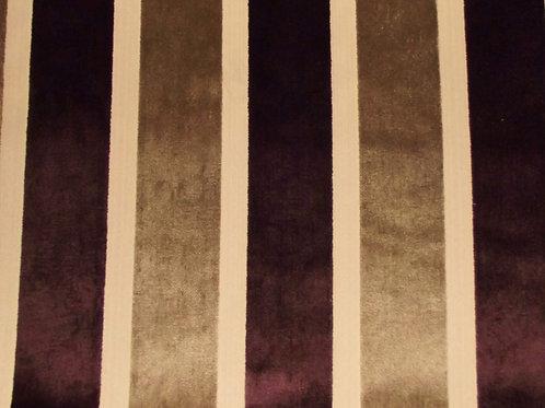 Eleganza Broad Stripe Damson / SR17312