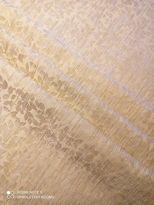 Remnant- Patterned Floral Cream- 1 M