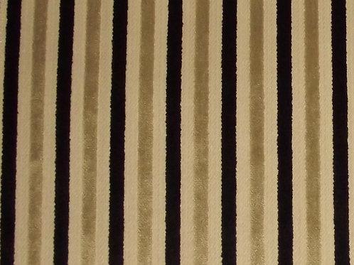 Eleganza Candy Stripe Ebony/Gold / SR17274