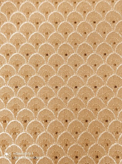 Remnant- Ross Fabrics- Small Shell Straw- 1 M