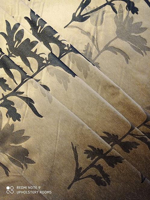 Remnant- Concept Textiles- Floral Pattern- 9.50 Metres