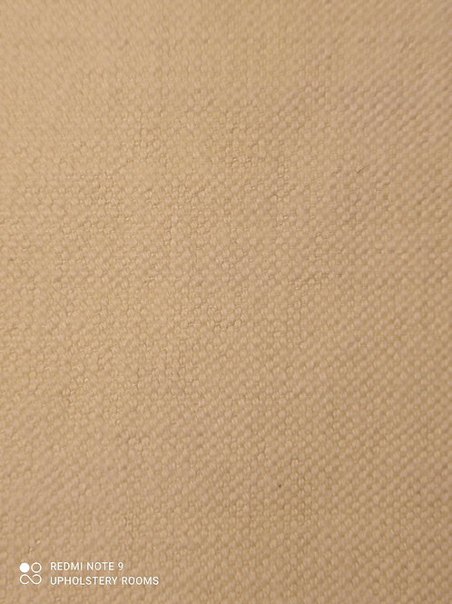 Remnant- Plain White Cream- 1 Metre