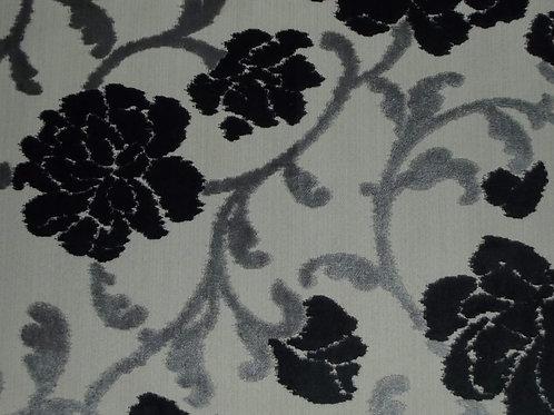 Eleganza Large Floral Charcoal / SR17305