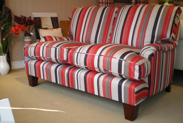 Custom made 2 seater Howard sofa