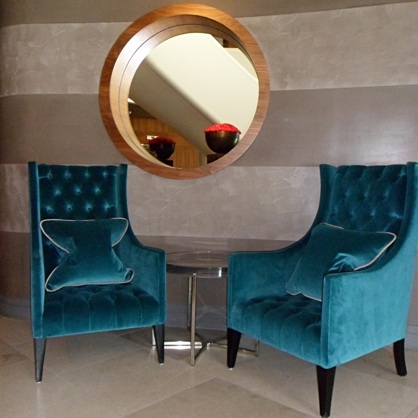 Aviator Hotel Two wing chairs