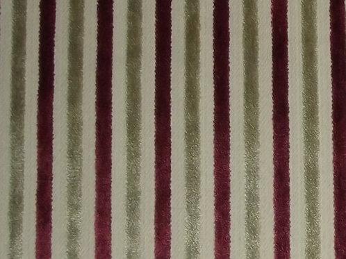 Eleganza Candy Stripe Cranberry / SR17333