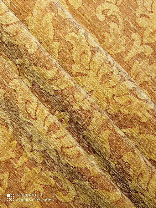 Remnant- Chenille Damask- 1.30 Metres
