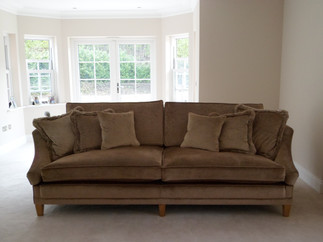 Custom Made 3 seater sofa