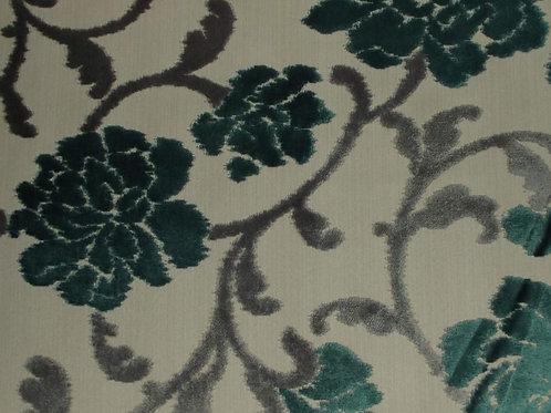 Eleganza Large Floral Teal / SR17304