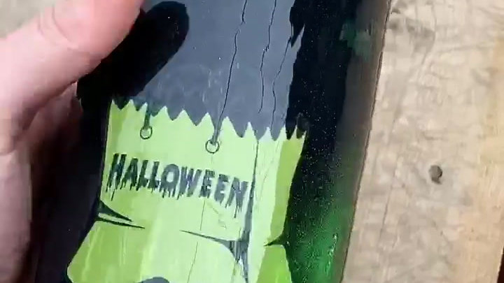 Glow in the Dark Halloween Travel Mug