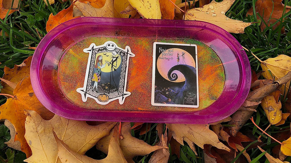 Nightmare Before Christmas Rolling Tray/Trinket Dish
