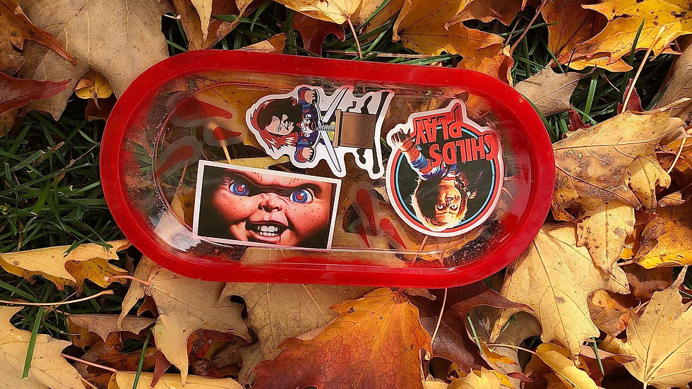 Chucky Rolling Tray/ Trinket Dish