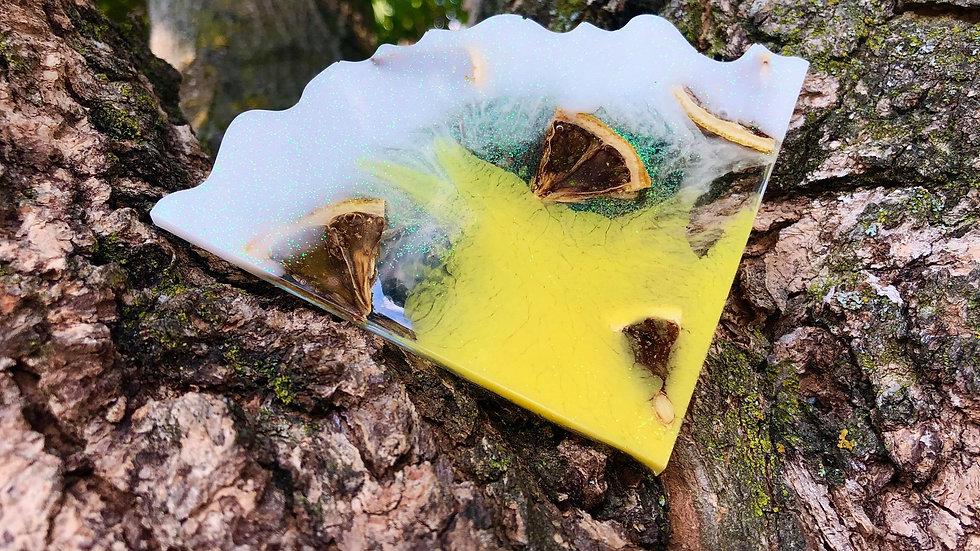 White Lemonade Coaster Set