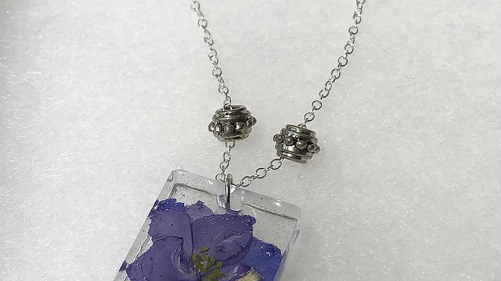 Precious Clematis Necklace