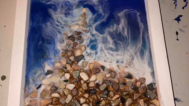 Custom Epoxy Ocean Pieces!