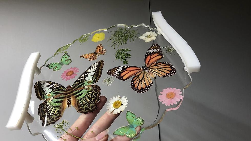 Butterfly Flower Tray