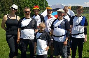Erfolgreiche Bogenschützen auf Gaumeisterschaft