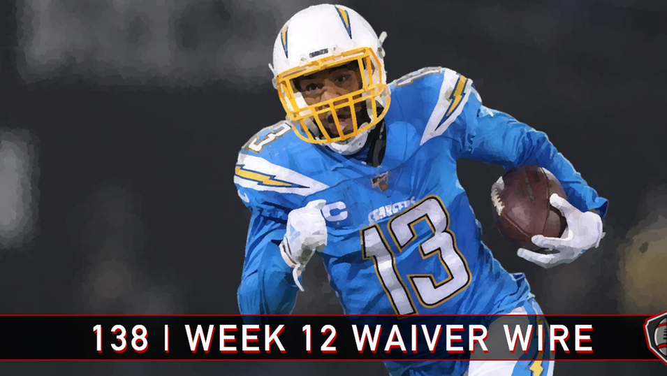 138 | Week 12 | Waiver Wire