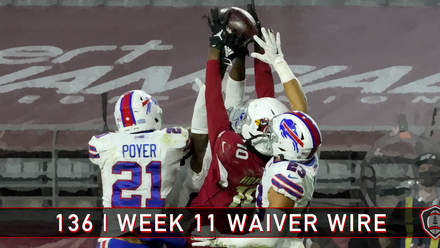 136 | Week 11 | Waiver Wire