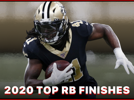 Top 20 Fantasy RBs in 2020
