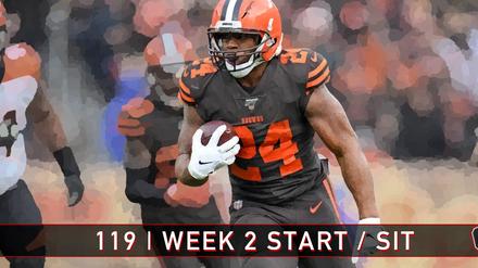 119 | Week 2 | Start / Sit