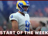 Starts of the Week: Week 2