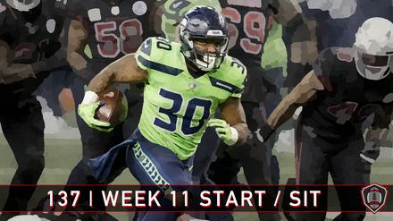 137 | Week 11 | Start - Sit
