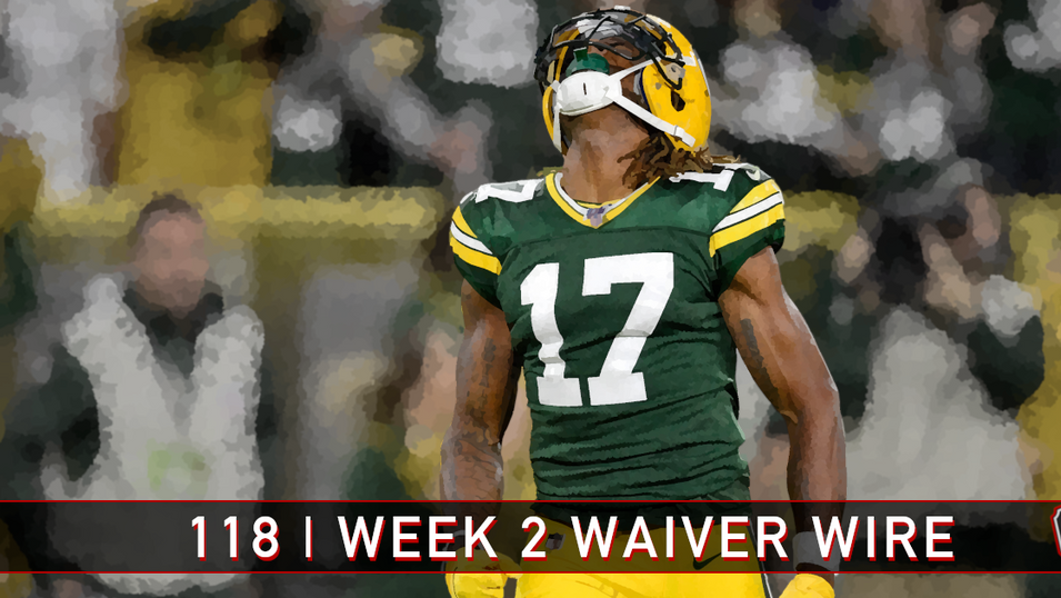 118 | Week 2 Waiver Wire