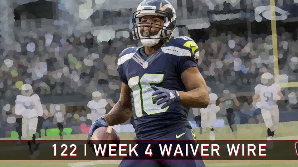 122 | Week 4 | Waiver Wire