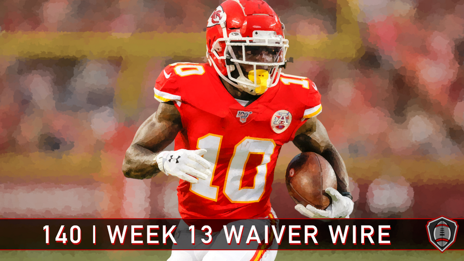 14 | Week 13 | Waiver Wire