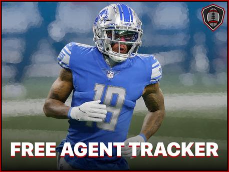 2021 NFL Free Agent Tracker