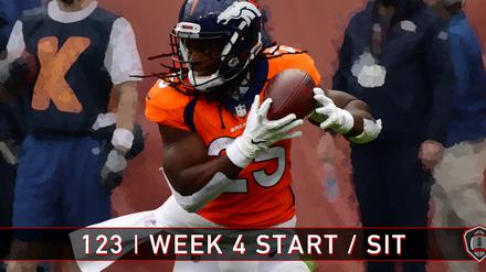 123 | Week 4 | Start - Sit
