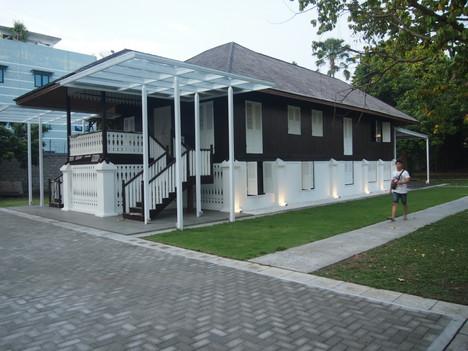 Old Malay house renovation