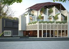 Ms. V house, Medan, 2015