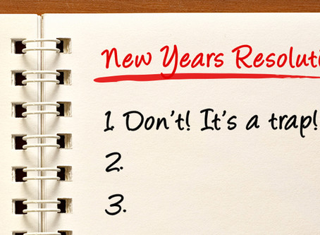 Why New Years Resolutions don't work for some people.