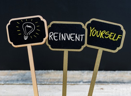 Becoming a master of reinvention.