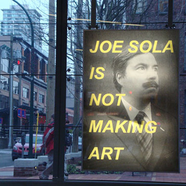 joe sola is making art