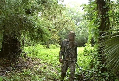 In the Woods (film still)