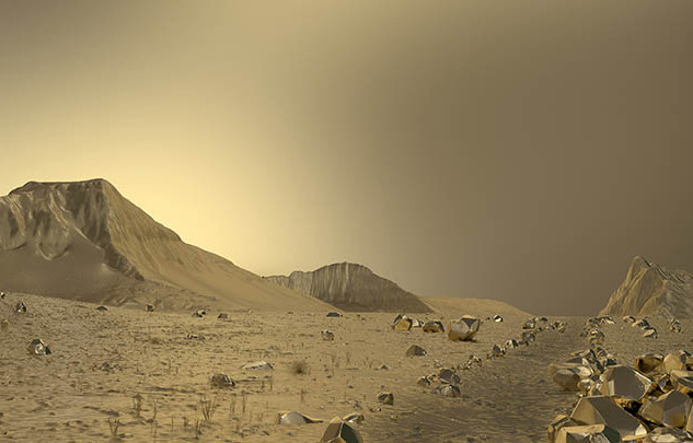 desert, 2020
