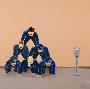 police pyramid