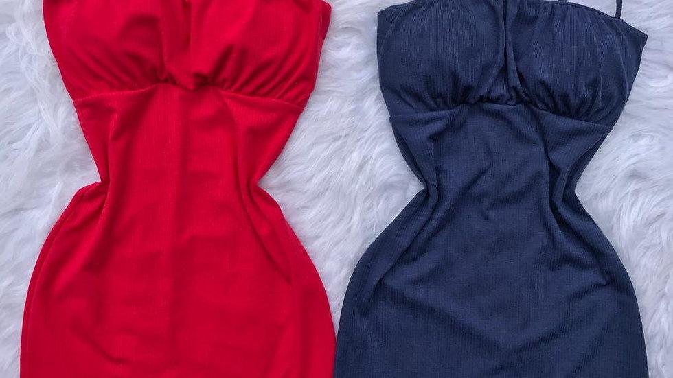 Vestido Justo Curto de Alcinha com Bojo Tubinho Dres Stillus