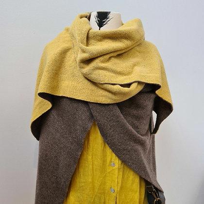 Reversible Cashmere Wrap