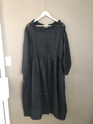 Alice Linen dress black size small