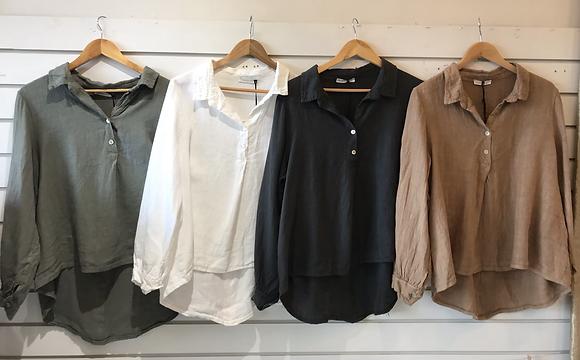 Gio Button shirt long sleeve