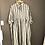 Thumbnail: EDITH black & natural strip dress size L