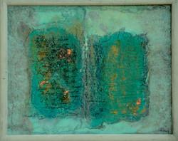 2_seiten..,acryl_auf_handgeschöpftem_papier_und_MDF_.30x25cm,_2012