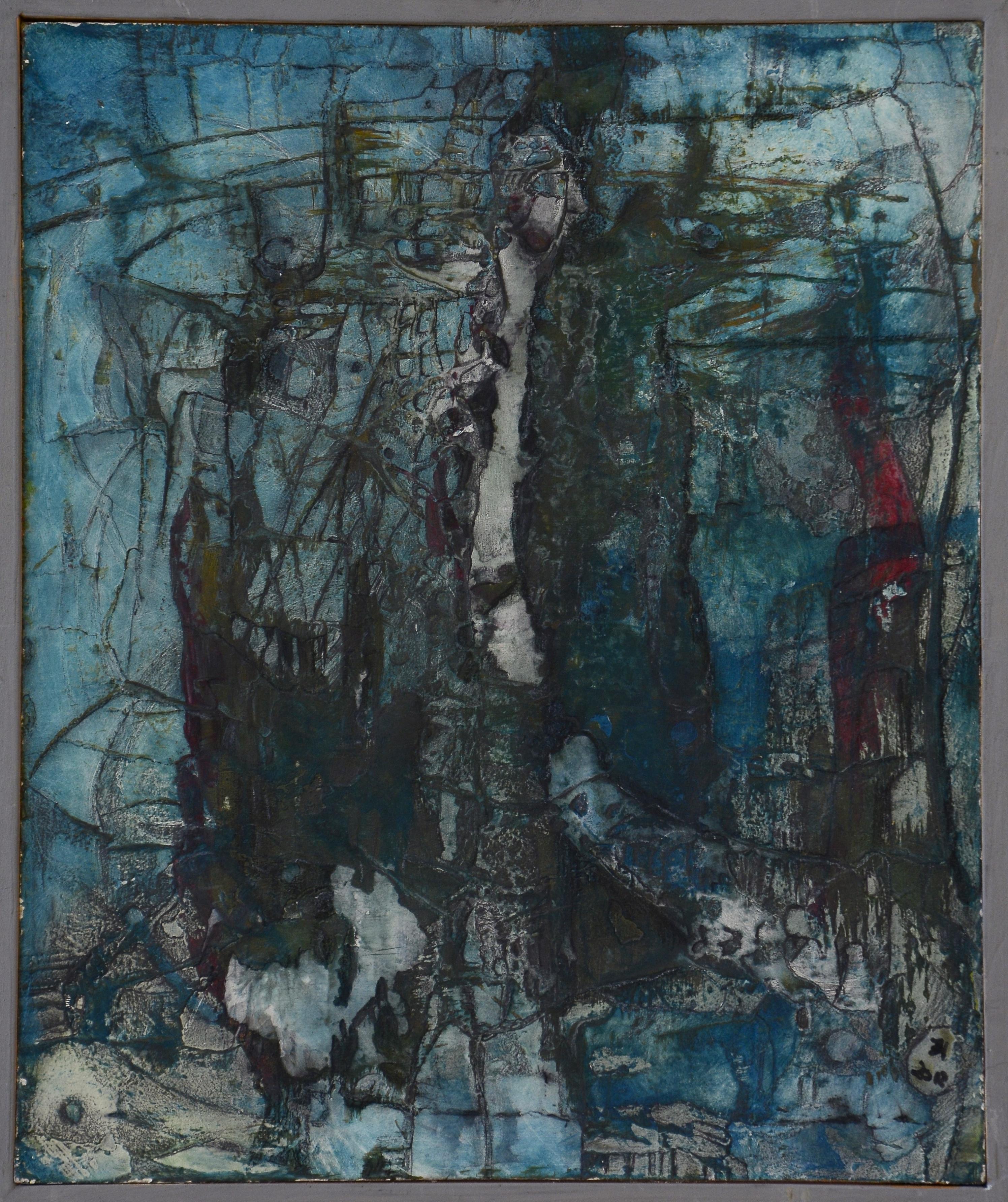 blaumann,acryl,tusche auf MDF,25x30cm,2012.JPG