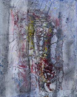 felsstruktur (30x24,acryl auf MDF) 2013